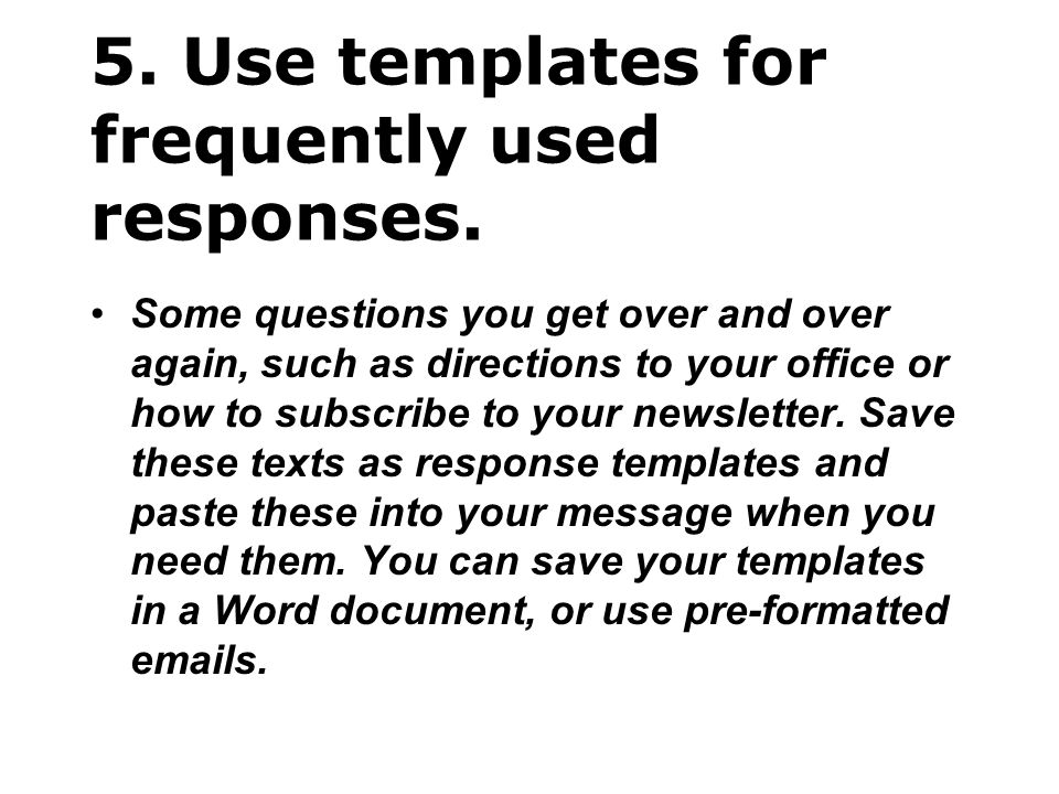 26.Avoid using URGENT and IMPORTANT.