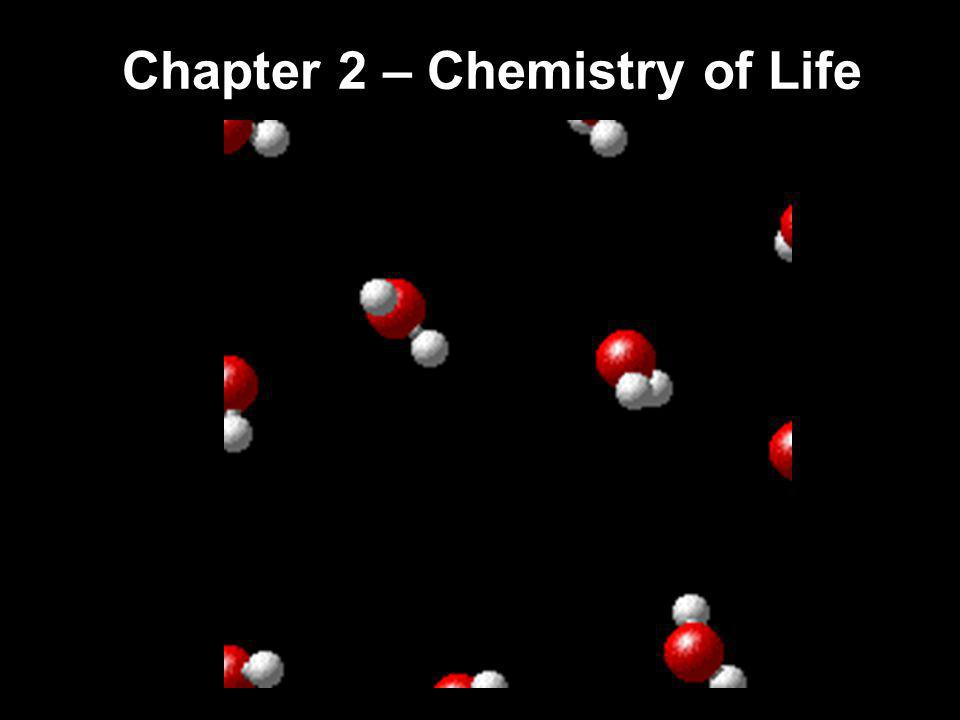 Basic Chemistry – Atoms to Molecules Matter is anything that takes up space and has mass.