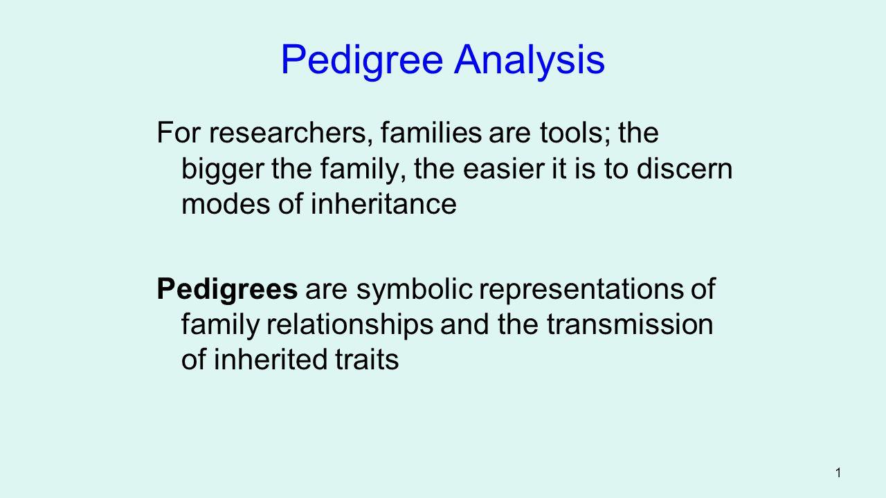 2 Pedigree Analysis Figure 4.15