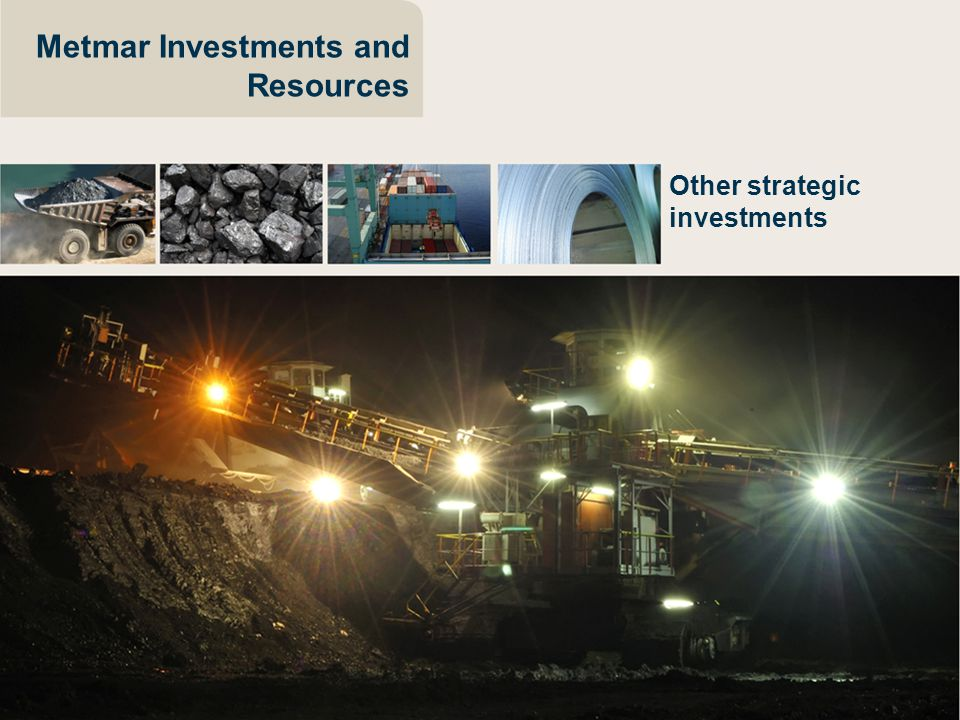 Metmar Investments and Resources Other strategic investments