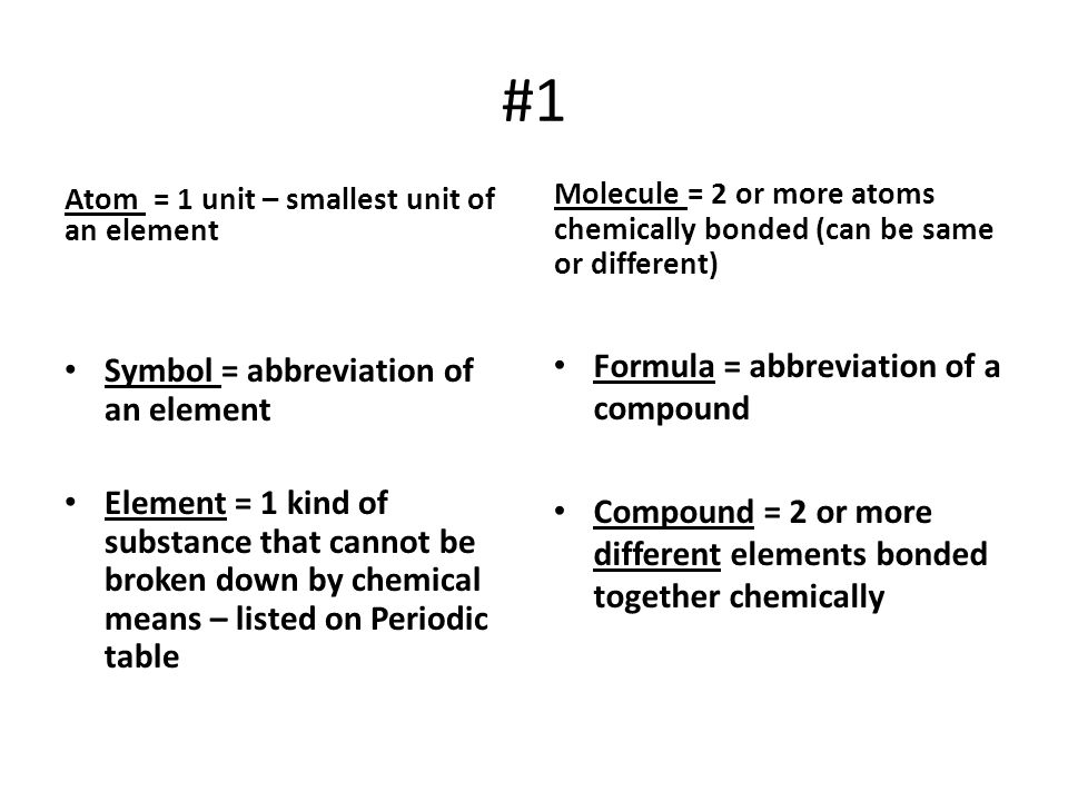 #21 Polar Covalent = unequal sharing of e- Nonpolar Covalent = equal sharing of e-