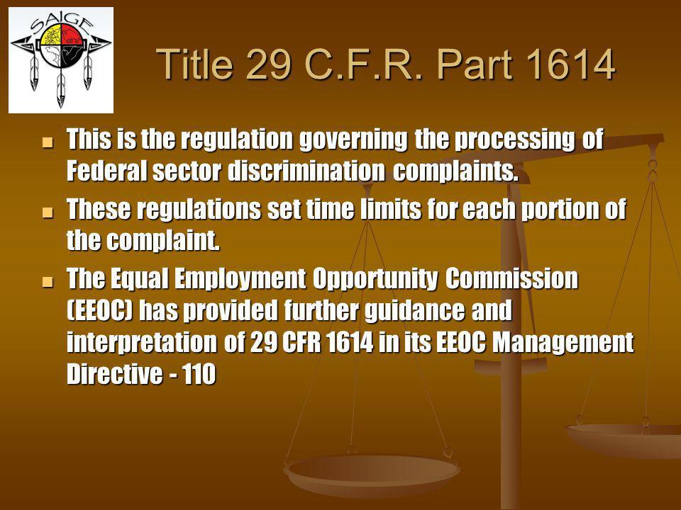 Title 29 C.F.R.