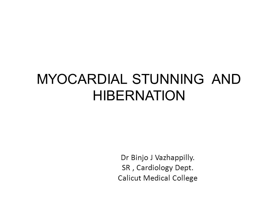 Clinical Relevance 20 to 50 % of pts with chronic ischemic LV dysfunction have significant amount of viable hibernating myocardium.
