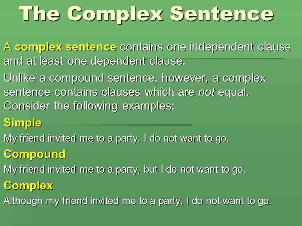 """Complex & Compound-complex Sentences """"We can do anything we want as long as we stick to it long enough."""" Helen Keller"""