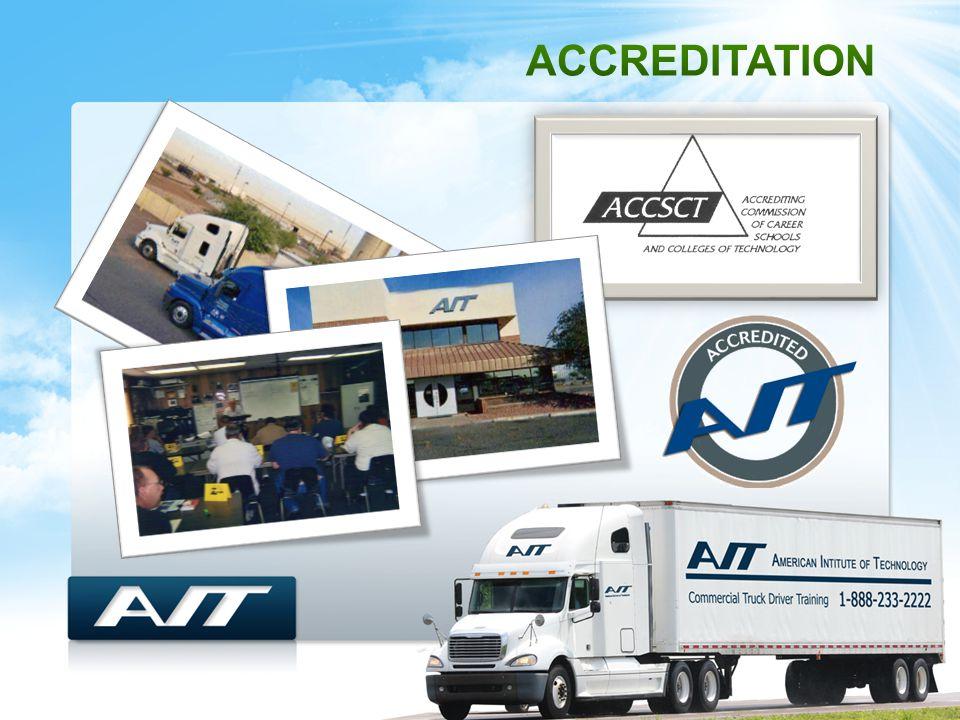  The AIT Way, Four Phases Classroom Range Training Road Training Externship (OTR) AIT Training