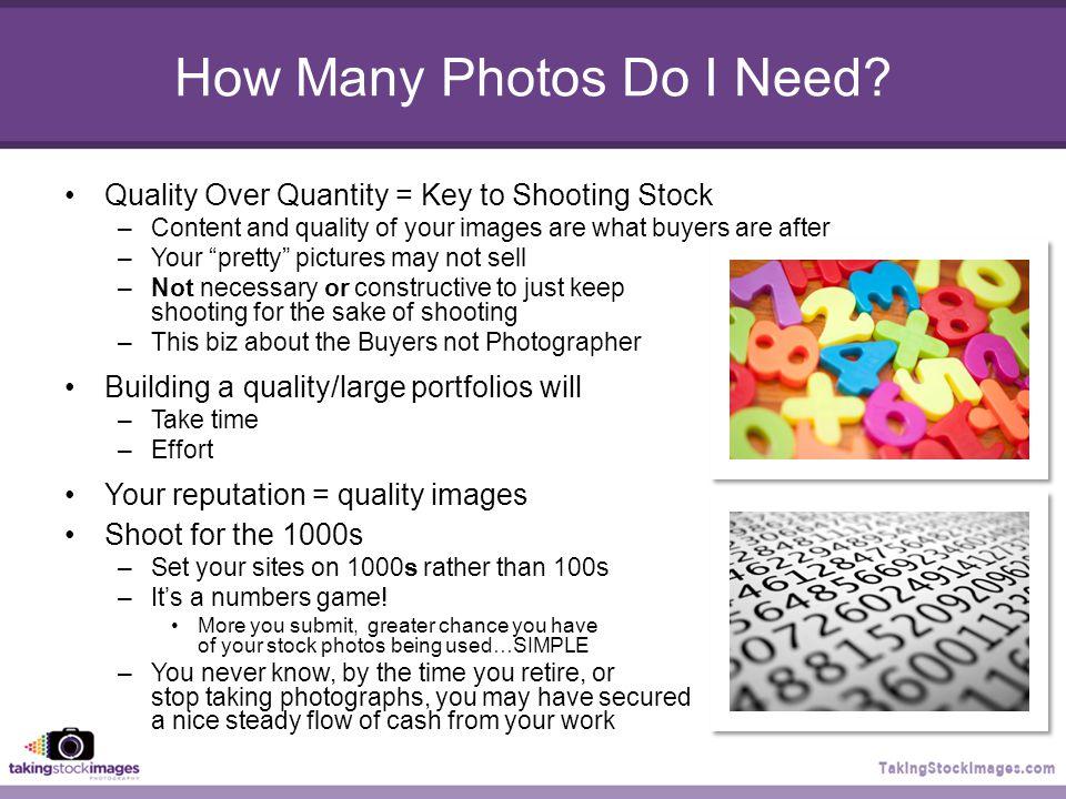 How Many Photos Do I Need.
