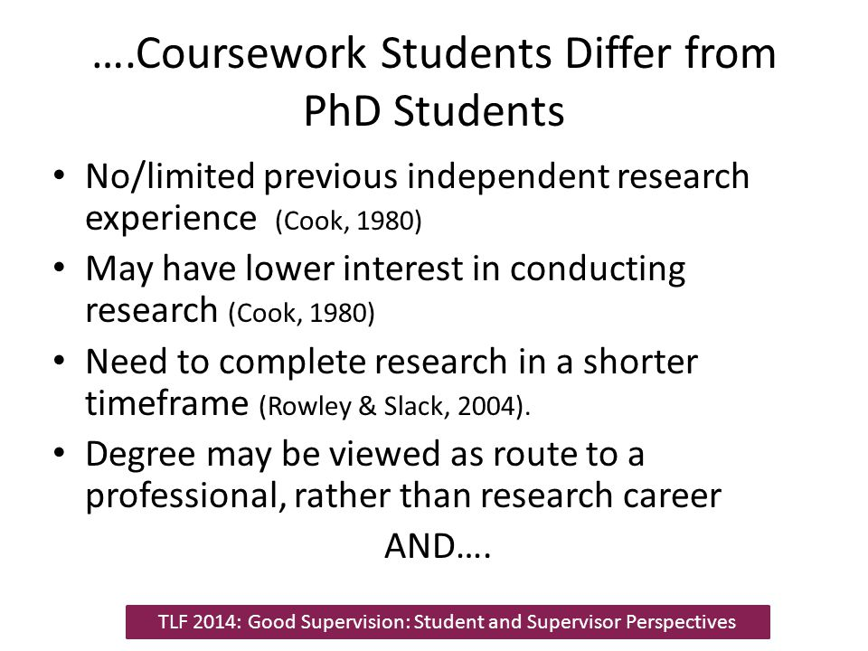 Student Supervisor Relationship Shared passion for topic Clear expectations Positive relationship/group dynamic 'Good' Supervision Meetings Guidance Clarification Positive feedback Meeting Outcomes Personal growth Skill development Student satisfaction Interest Ownership Supportive Provide structure Research knowledge Good Supervision: Supervisor Perspectives