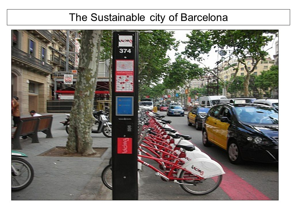 The Sustainable city of Barcelona