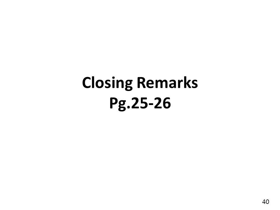 Closing Prayer Pg 26 41