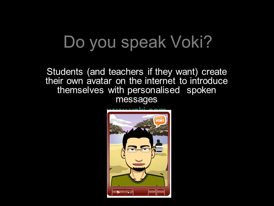 Do you speak Voki.