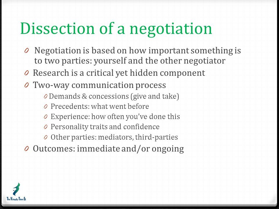 Tips for stronger negotiation