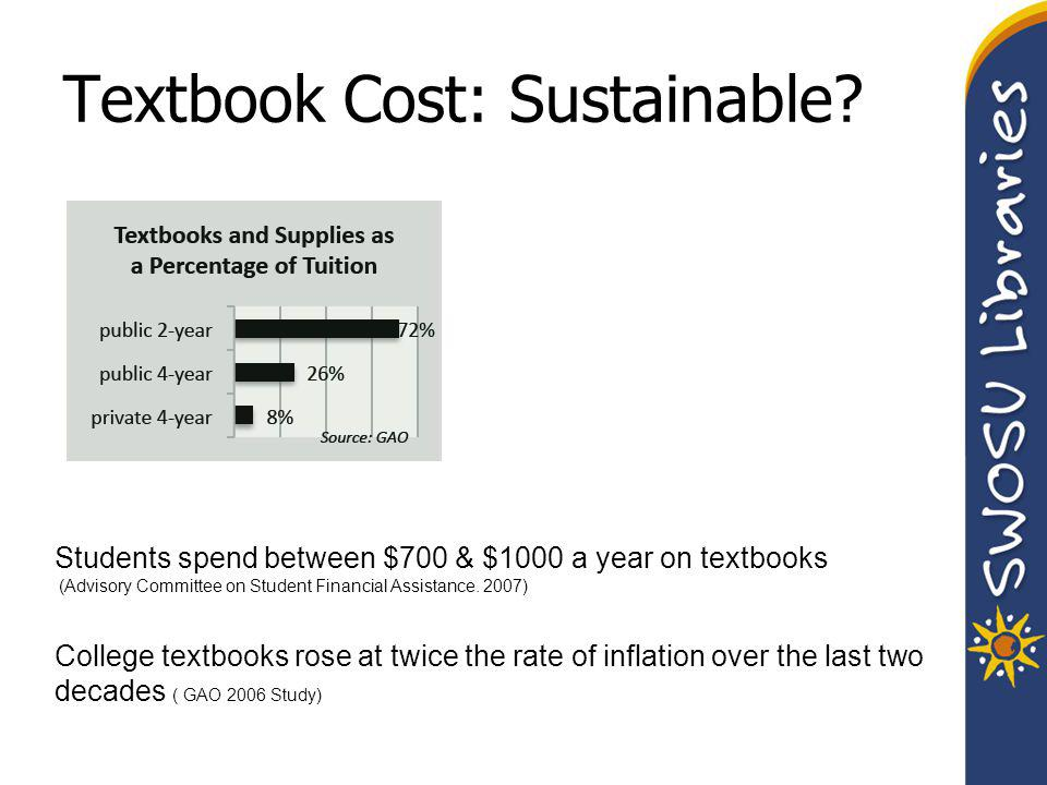 Digital Textbooks Done Right Open textbooks are affordable Open textbooks are easy & inexpensive to print Open textbooks are accessible
