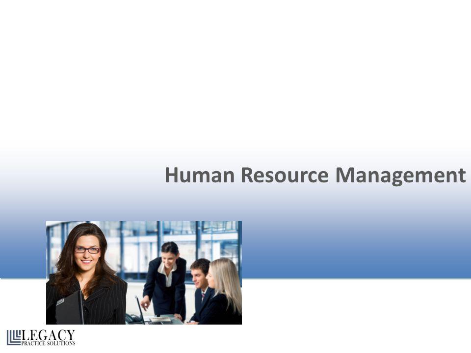 Human Resource Management Human Resource Management