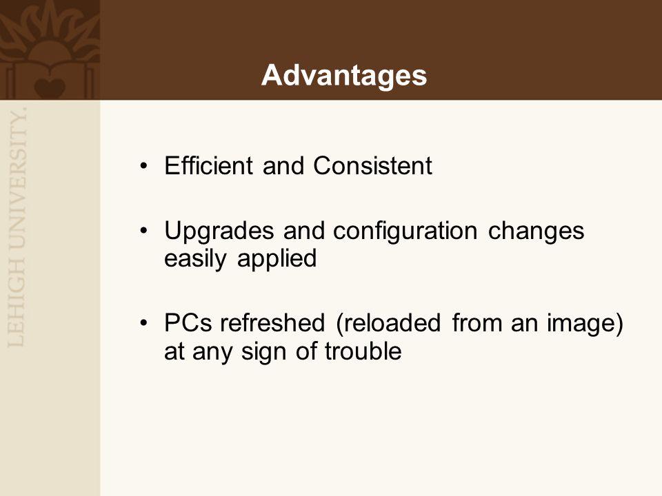Departmental ComputersHardware configurations differ