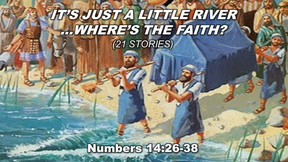 Numbers 14:26-38 (NLT) The L ORD Punishes the Israelites 26 Then the L ORD said to Moses and Aaron, 27 How long must I put up with this wicked community and its complaints about me.