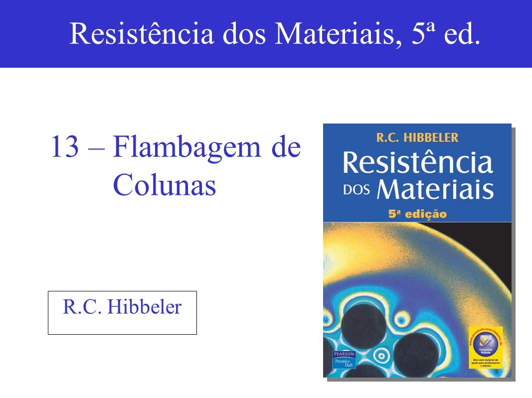 ©2004 by Pearson Education13-1 R.C.Hibbeler Resistência dos Materiais, 5ª ed.