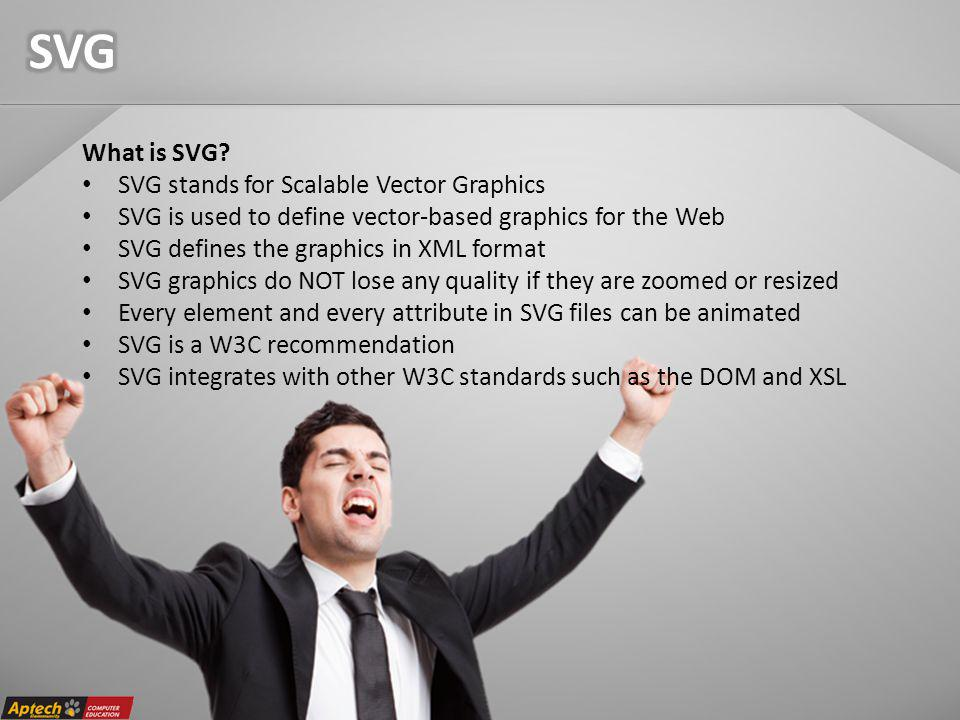 What is SVG.