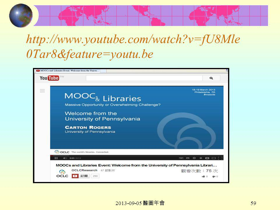 2013-09-05 醫圖年會 59 http://www.youtube.com/watch?v=fU8Mle 0Tar8&feature=youtu.be
