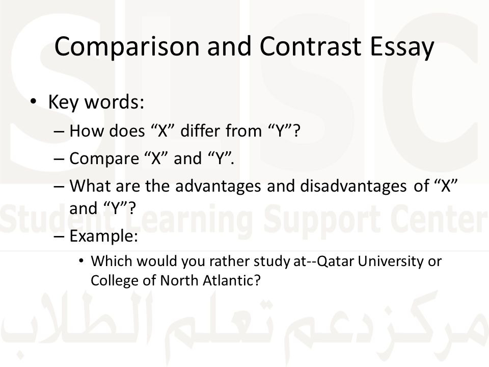 how to write a comparative essays Comparative essay writing a comparative essay is one that asks one to either compare how to write comparative essay and.