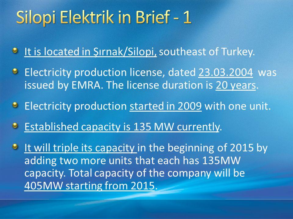 It is located in Şırnak/Silopi, southeast of Turkey.