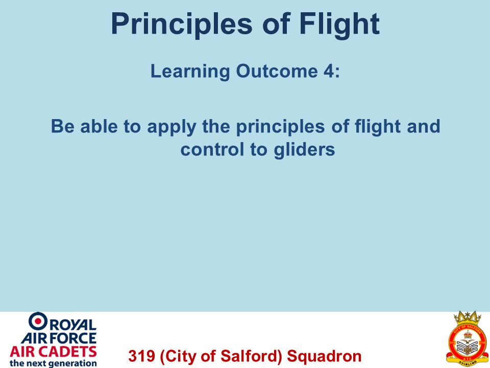 319 (City of Salford) Squadron Questions A Viking Glider with a glide ratio of 1:35 descends from 1640 ft (0.5 km).