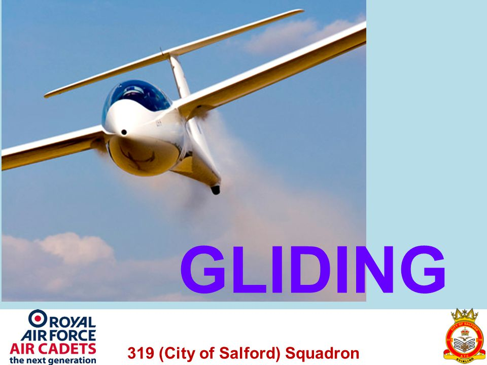 319 (City of Salford) Squadron Air Brakes This means a deeper angle is needed to being the glider in, hence it looses more height faster.