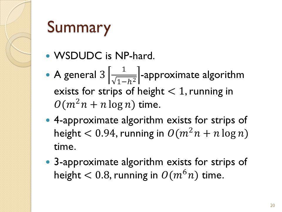 Summary 20