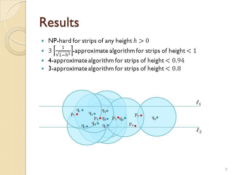 Results 7 p1p1 p2p2 p4p4 p3p3 p5p5 q1q1 q2q2 q4q4 q3q3 q5q5 q6q6 q7q7 q9q9 q8q8