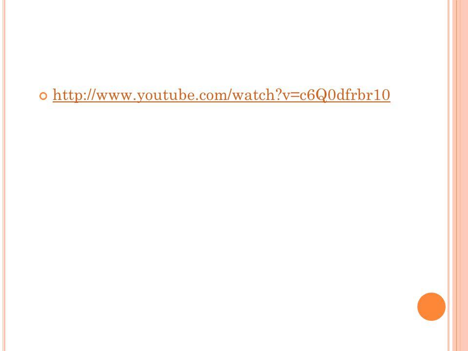 http://www.youtube.com/watch v=c6Q0dfrbr10