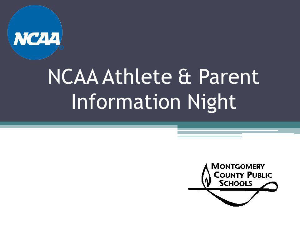 NCAA Athlete & Parent Information Night