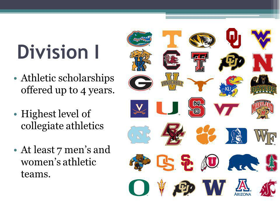 Athletic scholarships offered up to 4 years.