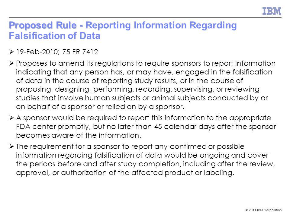 © 2011 IBM Corporation Warning Letter Examples  Noven Pharmaceuticals, Inc.