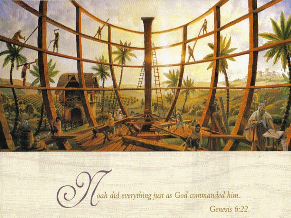 Noah, Go into the Ark, you and your whole family, because I have found you righteous in this generation. Genesis 7:1.