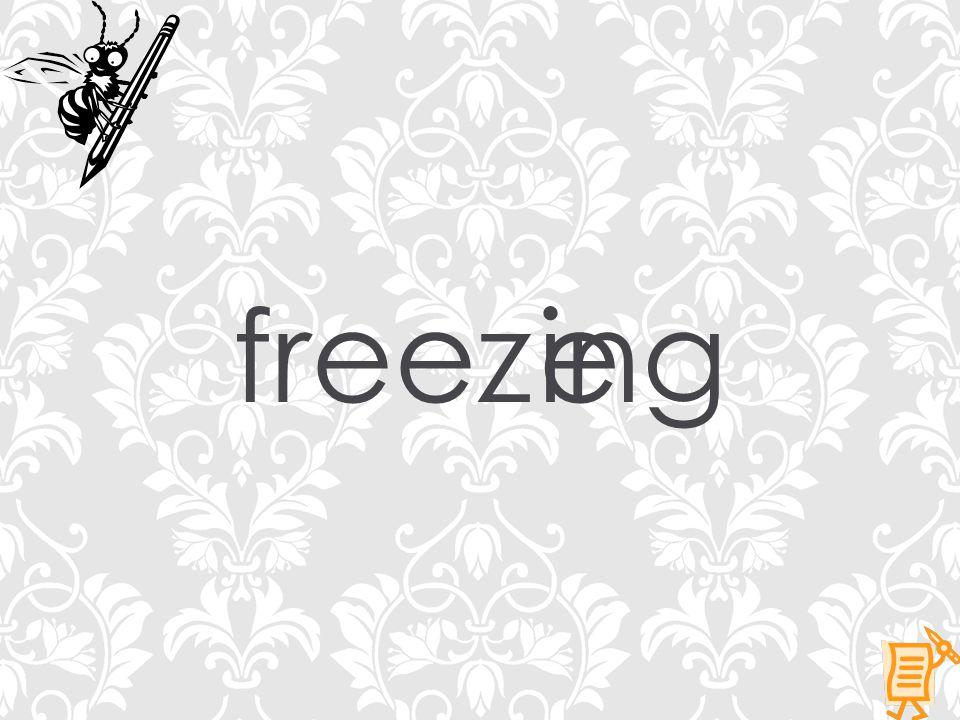freezeing