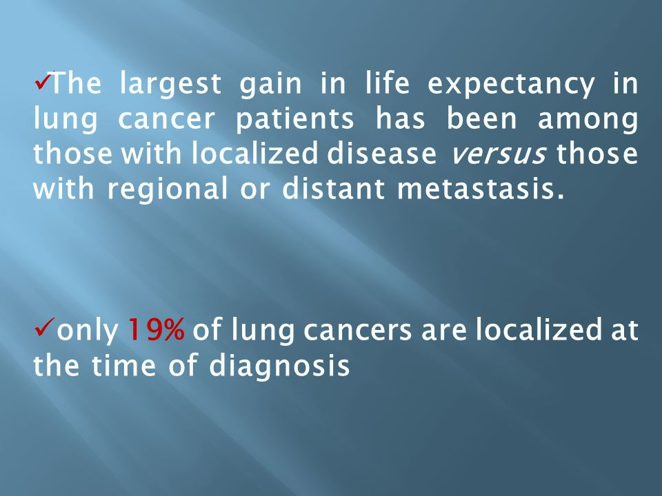Globally, lung cancer has been the most common cancer diagnosed each year since 1985. Lung cancer had a higher incidence among males worldwide than an