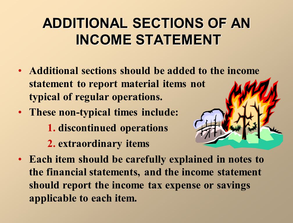INTRAPERIOD TAX ALLOCATION Intraperiod tax allocation refers to the procedure of associating income taxes within the income statement to the specific item that directly affects the income taxes for the period.