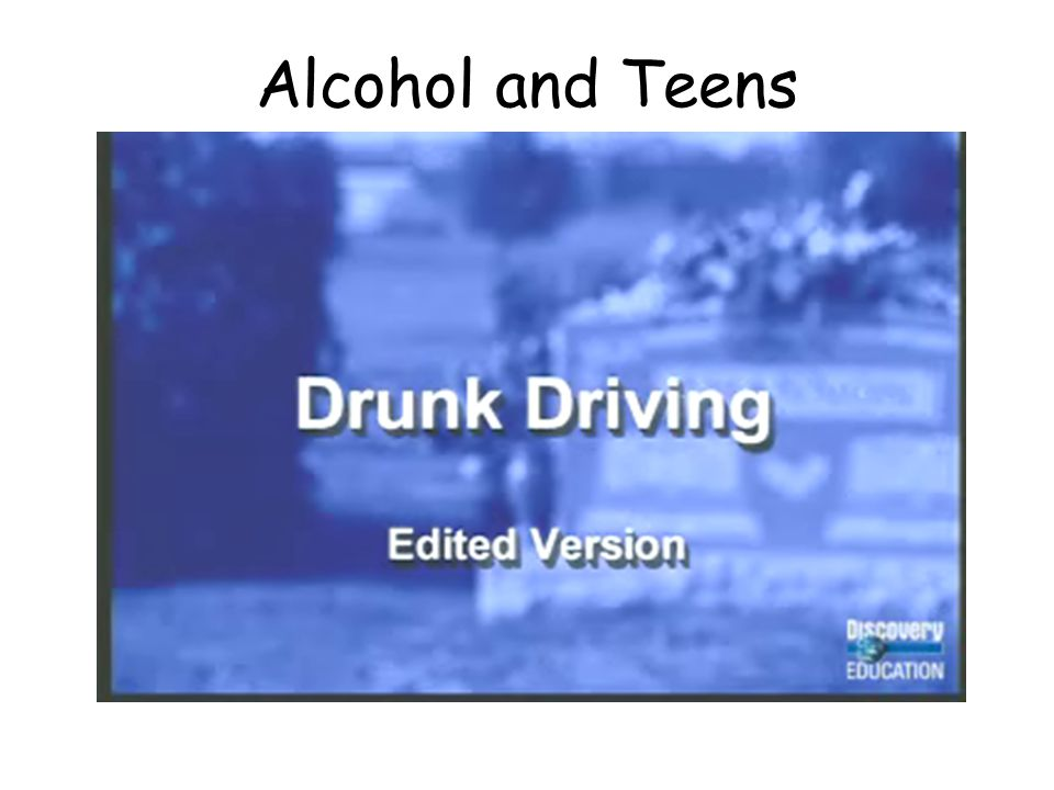Alcohol Facts Young drinking drivers are involved in fatal crashes at twice the rate of drivers aged 21 and older Drivers aged 16 through 20 are more likely to be alcohol- impaired than any other group Nearly half of those killed in alcohol related collisions had not been drinking but were victims of drunk drivers More than half of all fatalities during holidays are alcohol related.