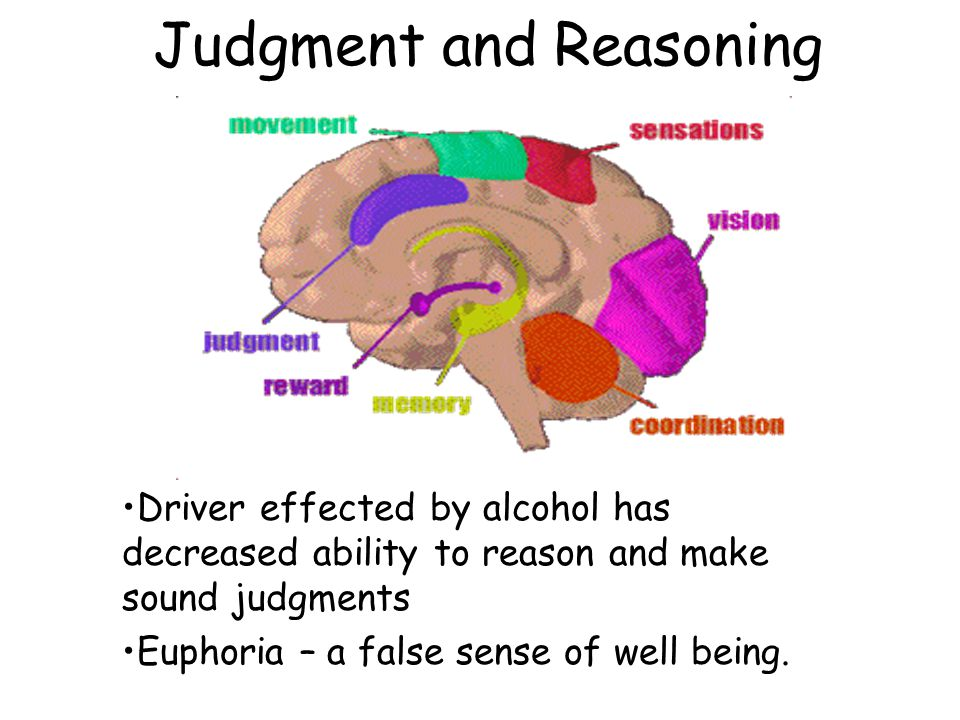 Myths and Truths About Alcohol True or False: One little drink wont hurt me. FALSE
