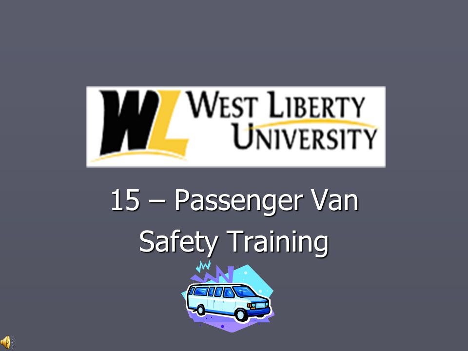 INTRODUCTION ► Many people, when they hop into the driver's seat of a 15-passenger van, expect to drive it just like they do their own car.