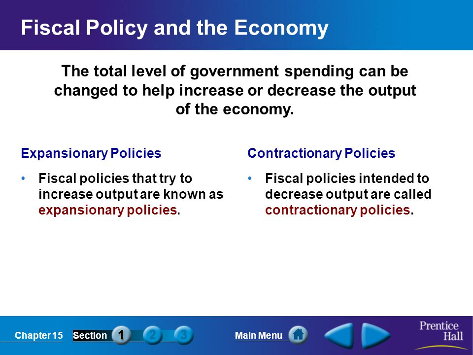 Chapter 15SectionMain Menu Deficit and Debt Reduction Legislative Solutions In reaction to large budget deficits during the 1980s, Congress passed the Gramm- Rudman laws which would have automatically cut spending across-the-board if spending increased too much.