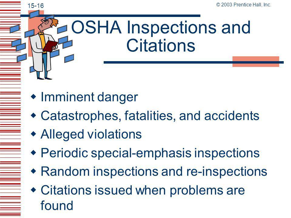 © 2003 Prentice Hall, Inc. 15-15 Accident Report Procedure Link