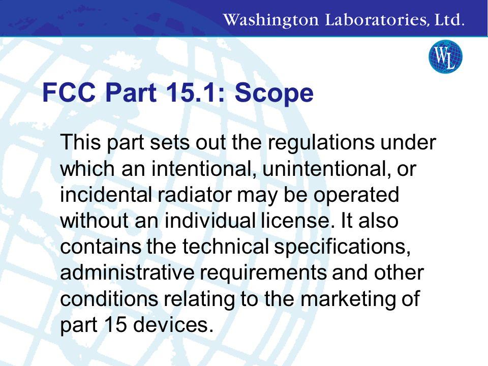FCC CFR 47 Regulations Part 87 Aviation Part 90 Private Land Mobile Part 95 Personal Radio Service Part 97 Amateur Radio Part 100 Digital Satellite Br