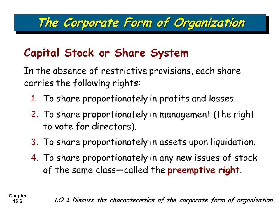Chapter 15-37 Cash Dividends Board of directors vote on the declaration of cash dividends.