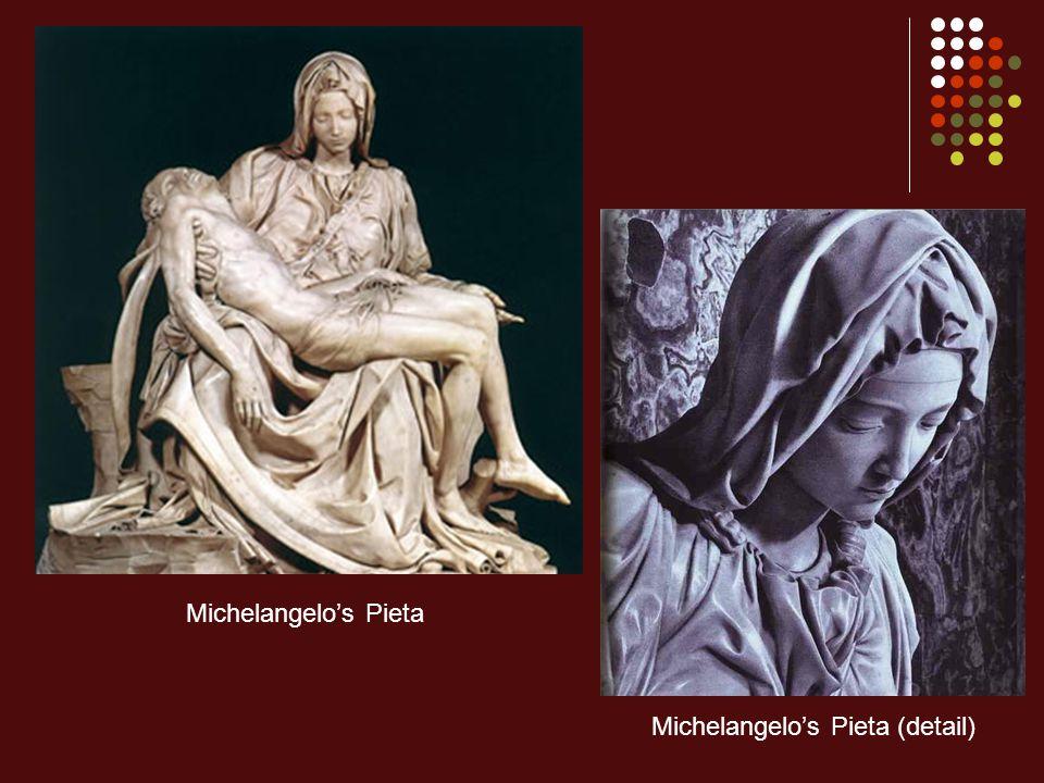 Michelangelo's Pieta Michelangelo's Pieta (detail)