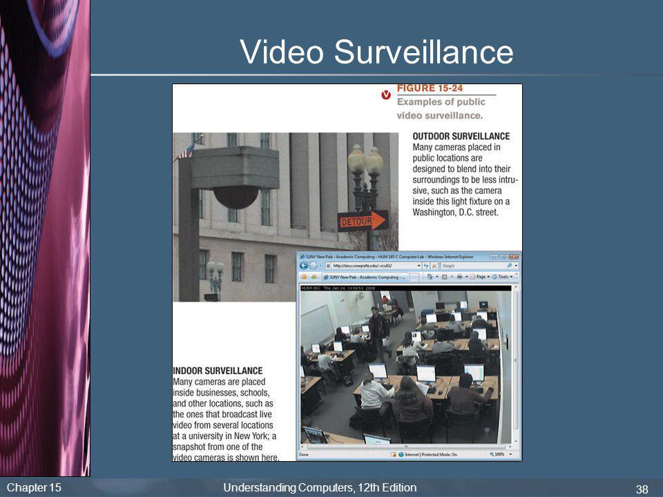 Chapter 15 Understanding Computers, 12th Edition 38 Video Surveillance