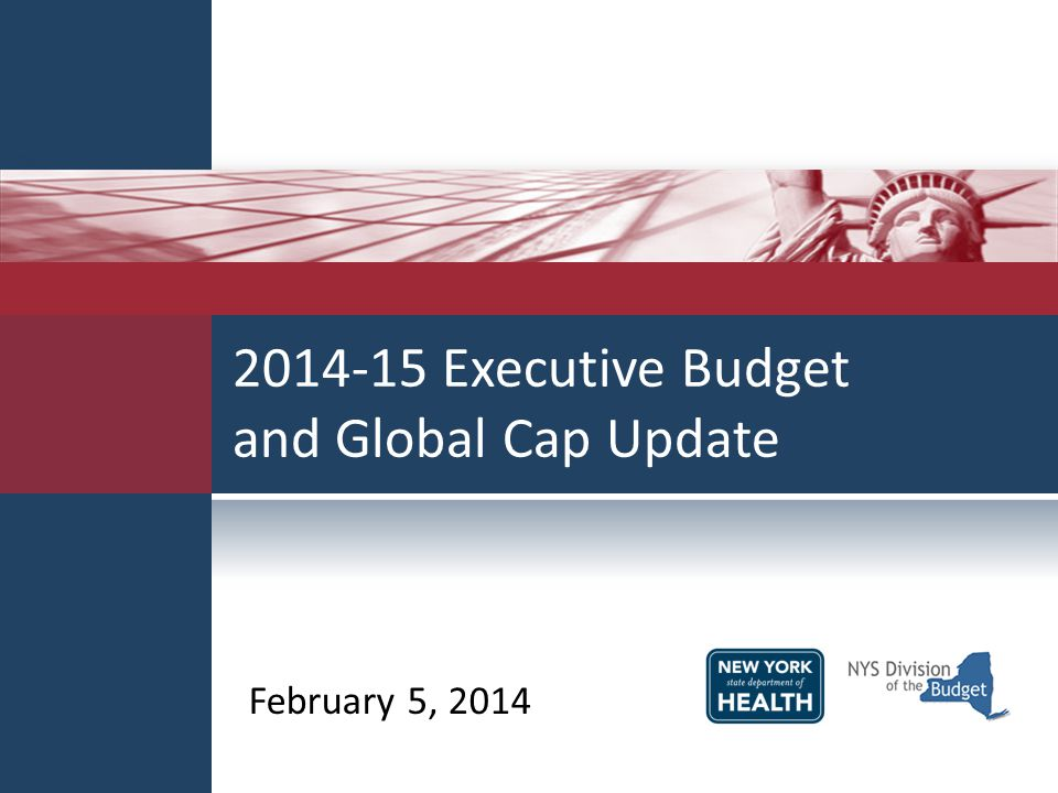 2014-15 Executive Budget and Global Cap Update February 5, 2014