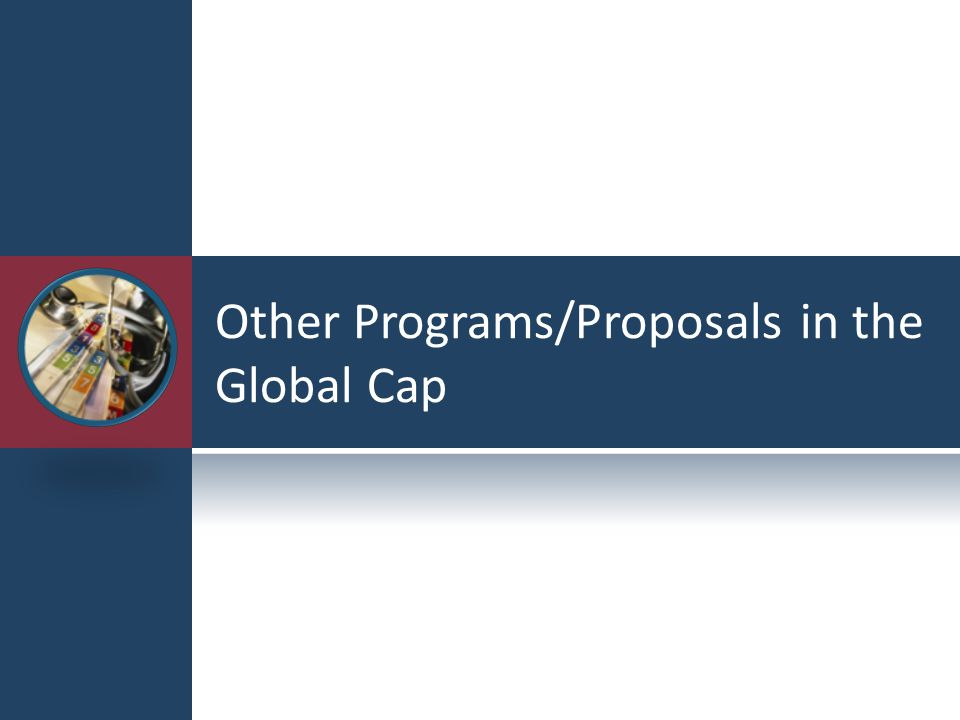 Other Programs/Proposals in the Global Cap