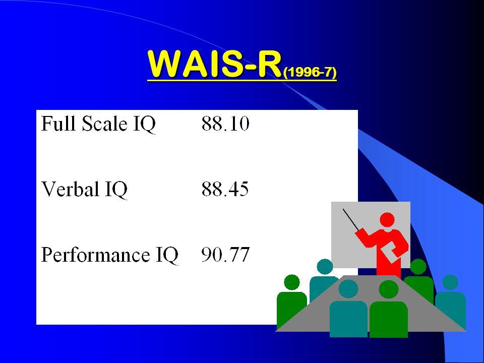 WAIS-R ( 1994-1995 )
