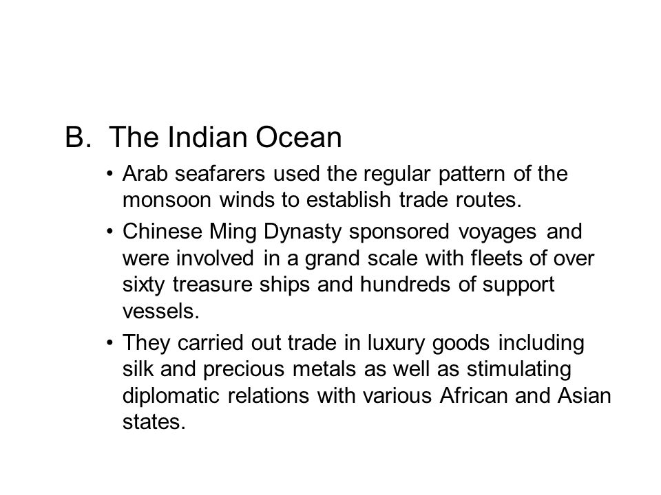 Indian Ocean maritime system.