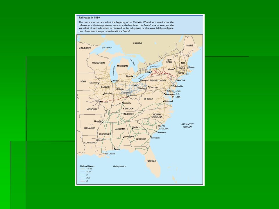 Border States  The states of the upper South provided a natural border between the two belligerents.
